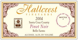 2004 Pinot Noir Belle Farms