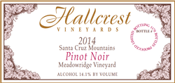 2014 Meadowridge Vineyard Pinot Noir